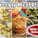 Easy Weekly Meal Plan #67