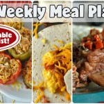 Easy Weekly Meal Plan #71