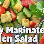 Zesty Marinated Garden Salad