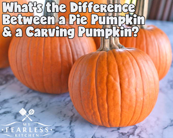 What S The Difference Between A Pie Pumpkin And A Carving Pumpkin