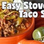 Easy Stovetop Taco Soup