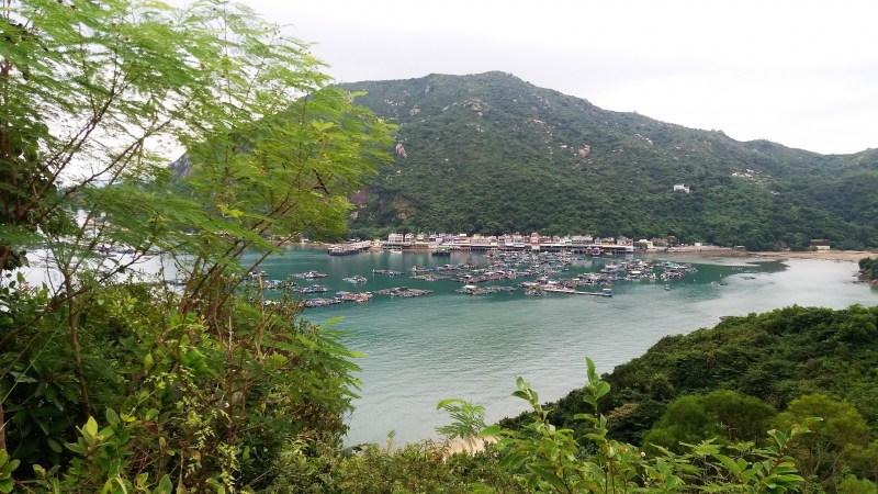 best day hikes in Hong Kong Lamma island