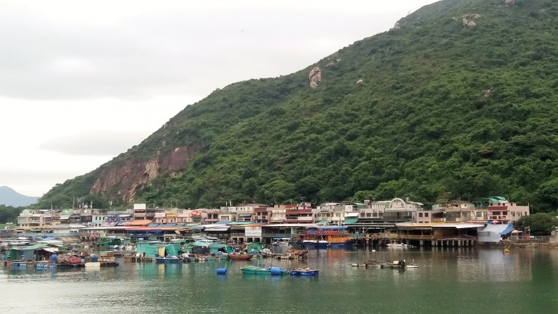day hikes in Hong Kong Lamma island