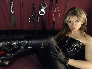 Real English Cam Dominatrix JustineFetish