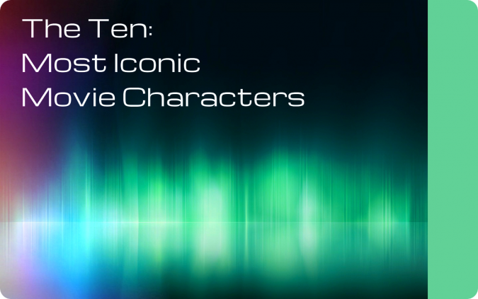 The Ten Most Iconic Movie Characters Relay Race