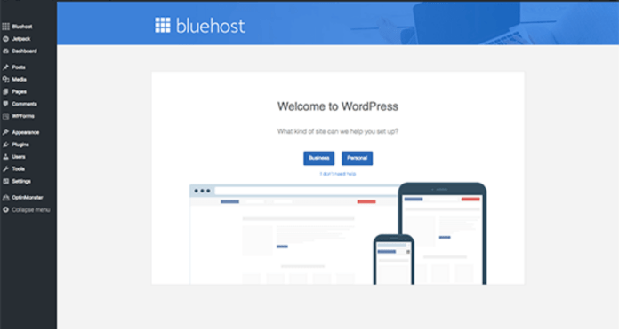 How To Start Your Own Free WordPress Blog With Bluehost-Welcome to WordPress-My Financial Hill