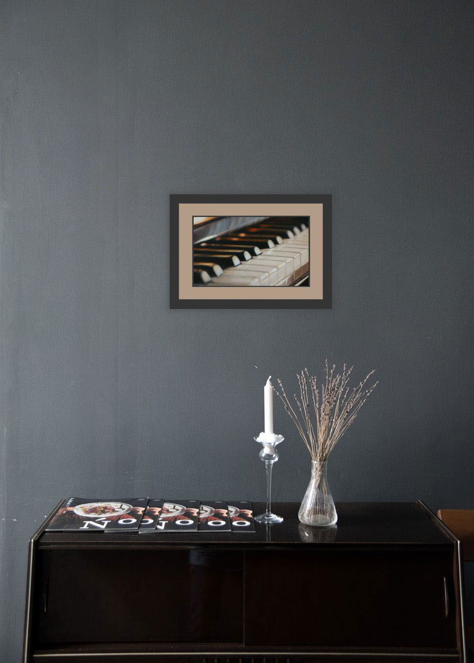 Limited Edition Prints - Piano print in room