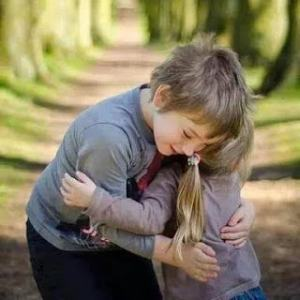 Romantic lovely kids whatsapp dp