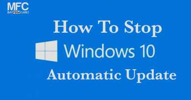 How to Stop Windows 10 Automatic Update