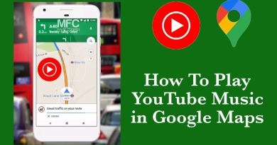 Play YouTube Music in Google Maps