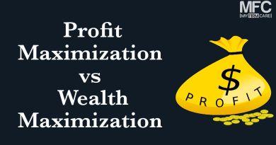 Profit Maximization and Wealth Maximization