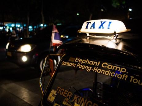 Taxi, Chiang Mai.