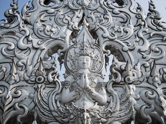 White Temple Buddha.