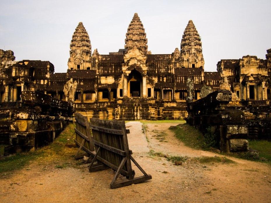 Angkor Wat through the backdoor.