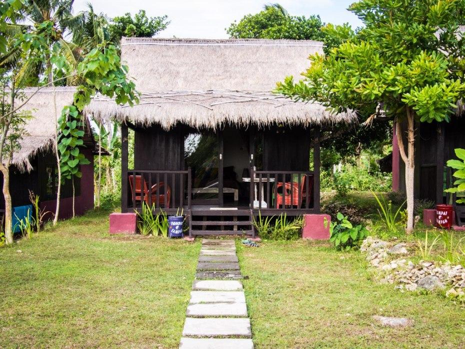 Our little cabin at Namaste, Nusa Penida.