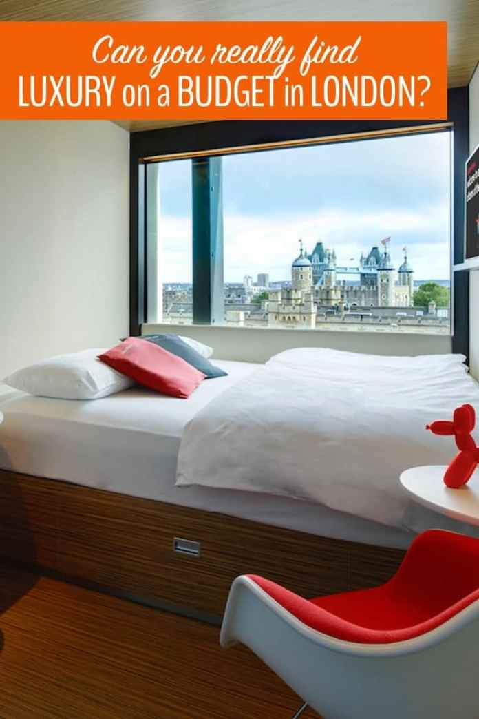 Is it possible to find luxury on a budget in London? Click to find out.