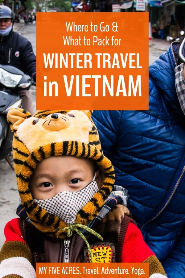 Here's everything you need to know for a great winter trip to Vietnam, including the best places to spend Christmas, what to pack, temperature & rainfall. #vietnam #travel #winter