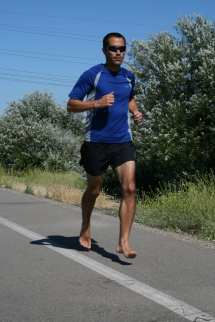 Barefoot Running Pace And Cadence
