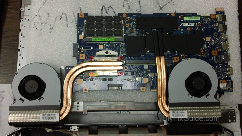 The Motherboard Schematic For Acer Aspire 5940g Laptop Notebook