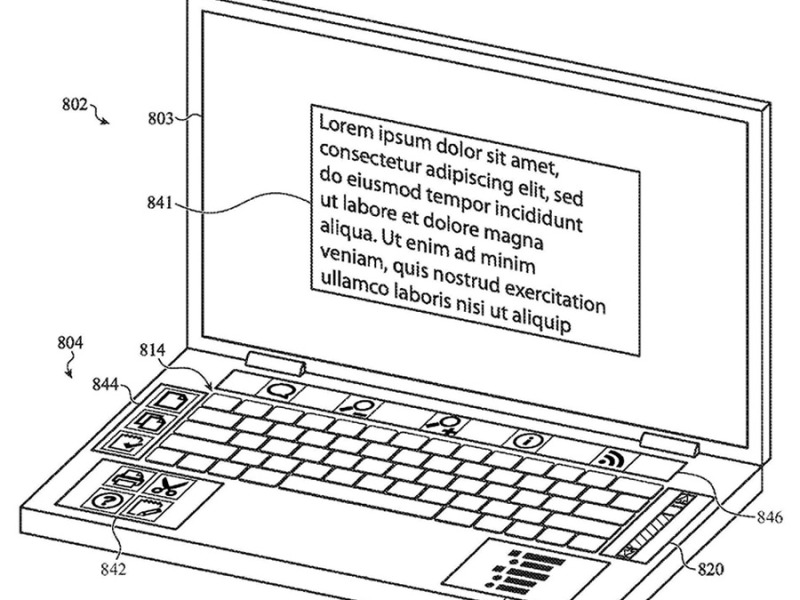 New patent shows Apple is developing multi-screen MacBook