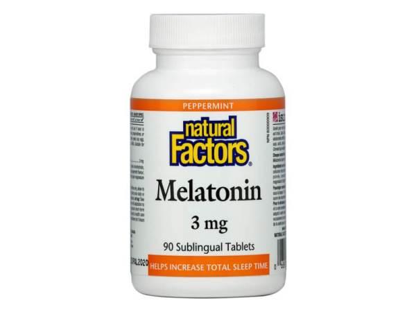 Мелатонин 3 мг х 90 таблетки