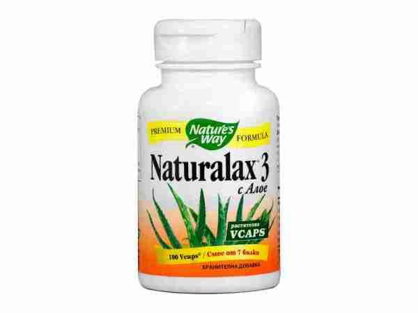 Натуралакс 3, 410 мг x 100 капсули