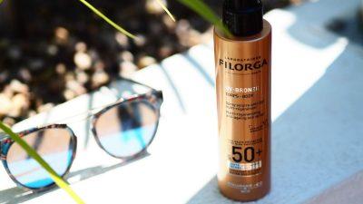 Слънцезащитно сухо олио за тяло с SPF 50+