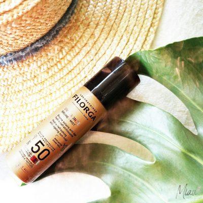FILORGA UV-Bronze Mist, Слънцезащитен, освежаващ спрей за лице с SPF 50+