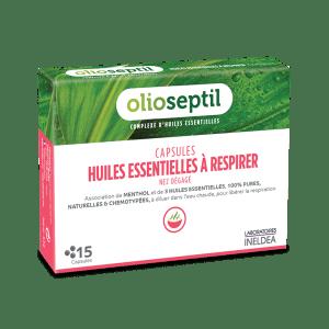 OlioSeptil, Олиосептил за инхалация (капсули с етерични масла) х 15