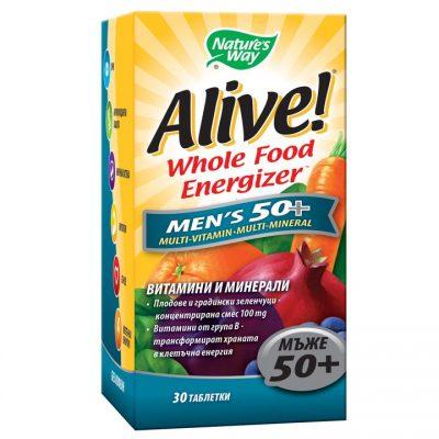 Алайв, Мултивитамини за мъже 50+, х 30 таблетки