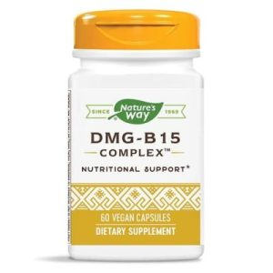 Nature's Way, ДМГ - Витамин В15 комплекс х 60 капсули