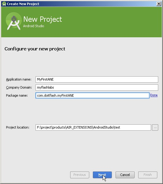 Android-studio-new-project-setup-1-adobe-air-native-extension