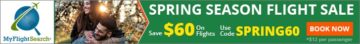 Travel for Less This Spring Season. Save up to $40.00** with promo code –SPRING40