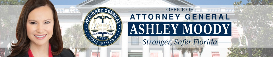 Office of the Attorney General of Florida banner