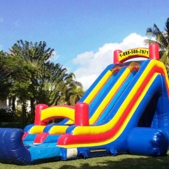 Table And Chair Rental Prices Kids Computer Chairs Inflatable Dry Slide Rentals Archives - My Florida Party