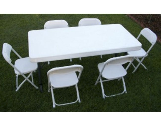 chair table rental white plastic patio chairs stackable kid tables my florida party