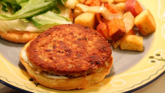 salmon Burger recipe