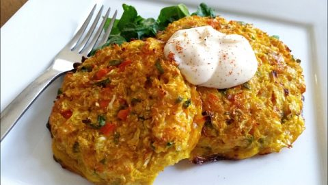 Cauliflower Cakes for LESS Carbs MORE Flavor