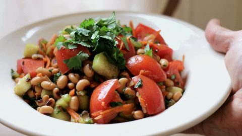 Black Eyed Peas Are A Healthy Salad Choice Myfoodchannel