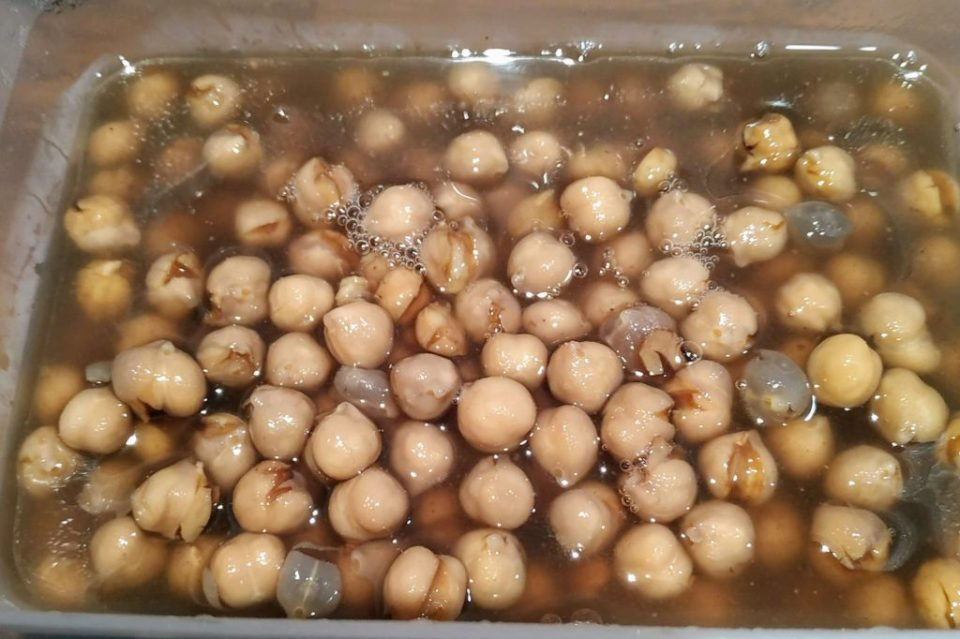 pre-cooked chickpeas