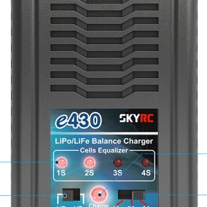 SkyRC e430 LiPo / LiFe(2-4s) Balance Charger