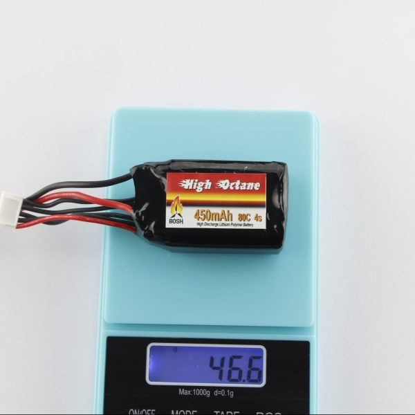 Bosh 450mah 4s Lipo Battery weight