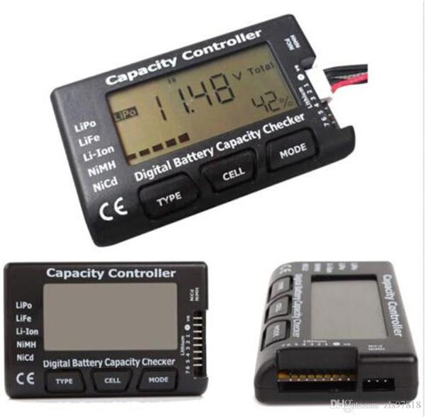Digital Battery Capacity Checker for RC FPV by CellMeter 7