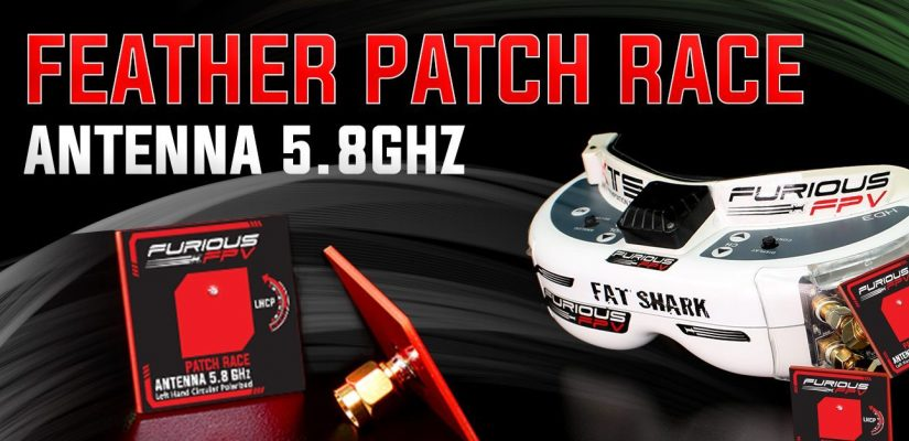 furiousfpv feather patch race banner