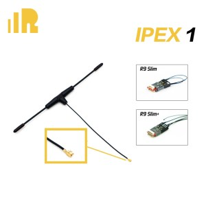 FrSky 900MHz Ipex1 Dipole T Antenna for R9 Slim / R9 Slim+ Receiver