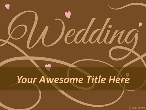 Free Wedding Ppt Templates