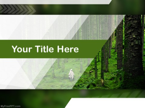 The planet's forests are under threat. Free Forest Powerpoint Templates Myfreeppt Com