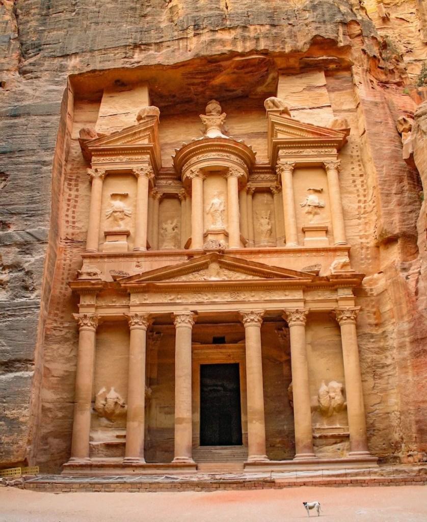 The Treasury - Petra - Jordan itinerary