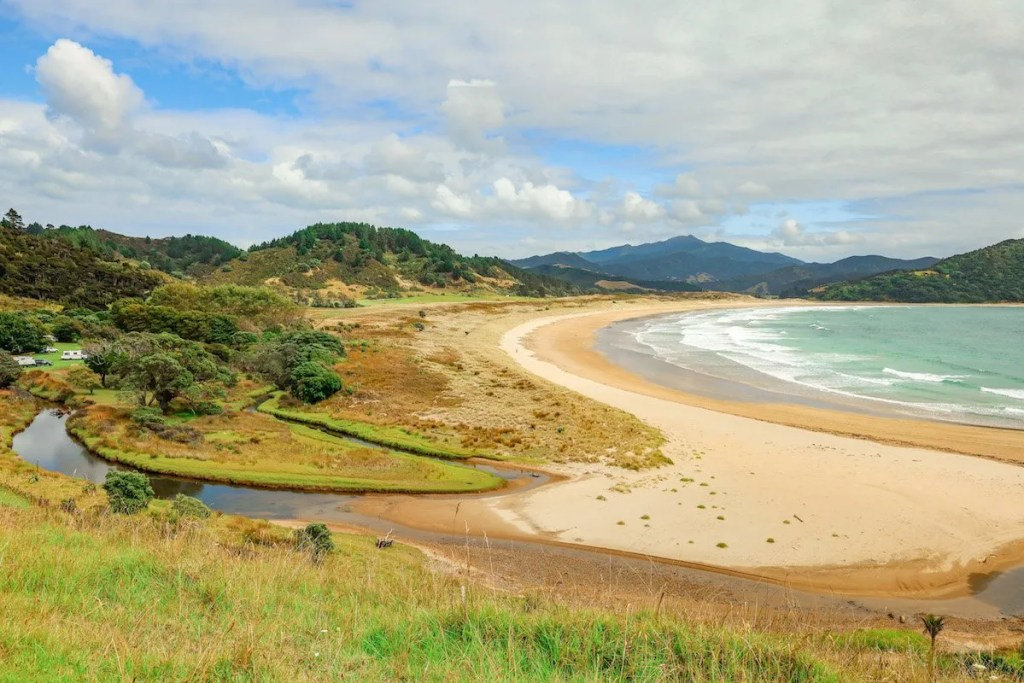 Best places to visit in the North Island, New Zealand - Waikawau Bay