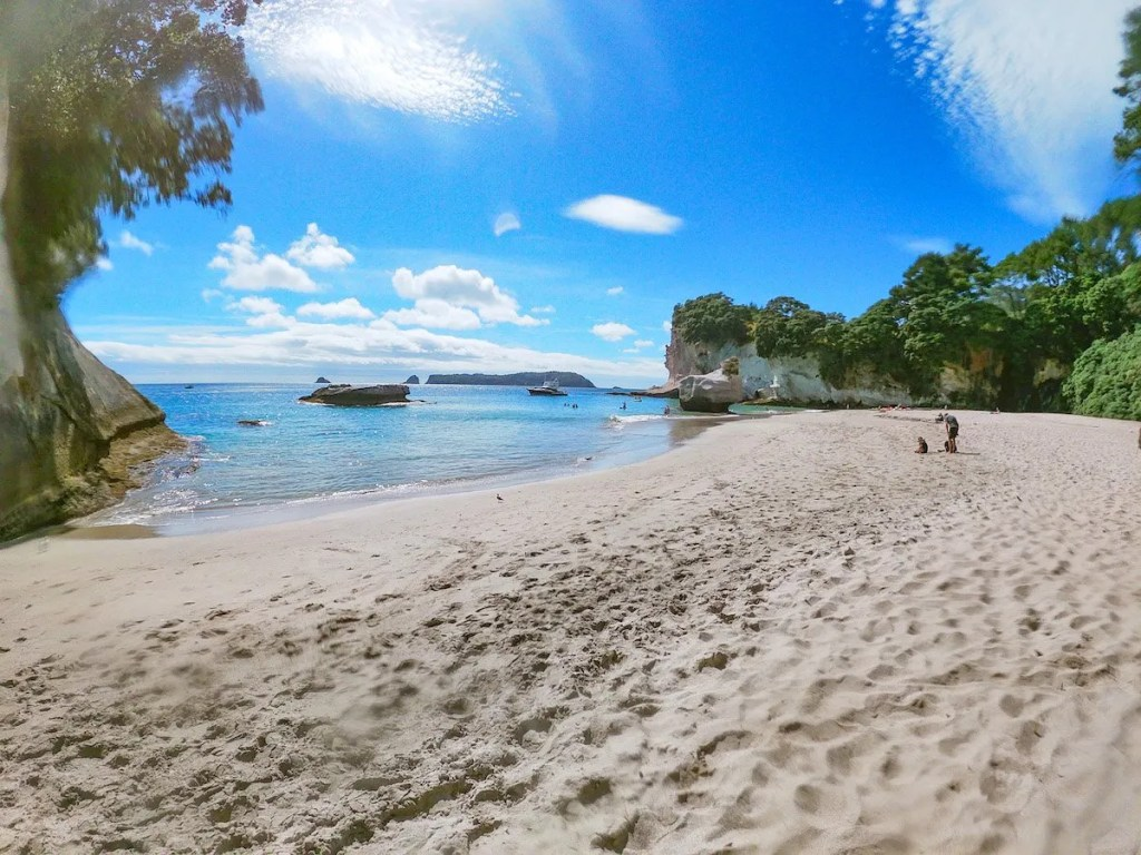 Cathedral Cove beach from the movie Narnia